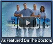 As featured on the Doctors