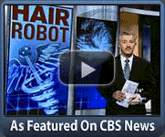 Robotic Hair Transplant Featured on CBS News | SHI Toronto (416)-747-7873